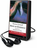 Cover image for Body of evidence. bk. 2 Kay Scarpetta series
