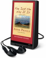 Cover image for Fine just the way it is Wyoming stories 3