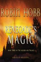 Cover image for Renegade's magic. bk. 3 Soldier son trilogy