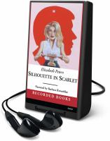 Cover image for Silhouette in scarlet. bk. 3 Vicky Bliss series