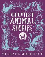 Cover image for Greatest animal stories