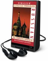 Cover image for Russian. Part A : the complete course I [Playaway] .