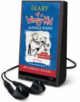 Cover image for Diary of a wimpy kid [Playaway] : Rodrick rules