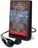Cover image for The lost quilter. bk. 14 Elm Creek quilts series