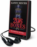 Cover image for 206 bones. bk. 12 Temperance Brennan series