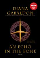 Cover image for An echo in the bone. bk. 7, part 2 Outlander series