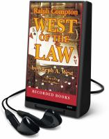 Cover image for West of the law. bk. 1 John McBride series