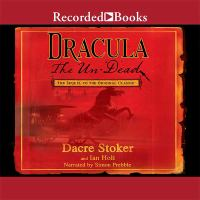 Cover image for Dracula : the un-dead [sound recording CD]