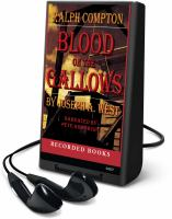 Cover image for Blood on the gallows. bk. 3 John McBride series
