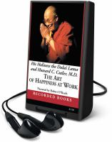 Cover image for The art of happiness at work