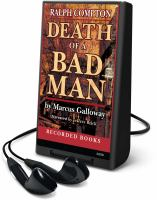 Cover image for Death of a bad man