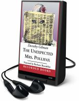 Cover image for The unexpected Mrs. Pollifax. bk. 1 Mrs. Pollifax series