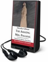Cover image for The amazing Mrs. Pollifax. bk. 2 [Playaway] : Mrs. Pollifax series