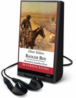 Cover image for Badger boy. bk. 2 Texas Rangers series