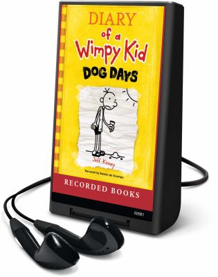 Cover image for Diary of a wimpy kid. bk. 4 Dog days