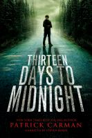 Cover image for Thirteen days to midnight