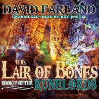 Imagen de portada para The lair of bones. bk. 4 The Runelords series