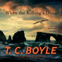 Cover image for When the killing's done a novel