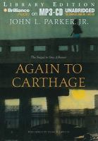 Imagen de portada para Again to Carthage. bk. 2 Once a runner series