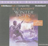 Imagen de portada para Winter duty. bk. 8 [sound recording CD] : Vampire earth series