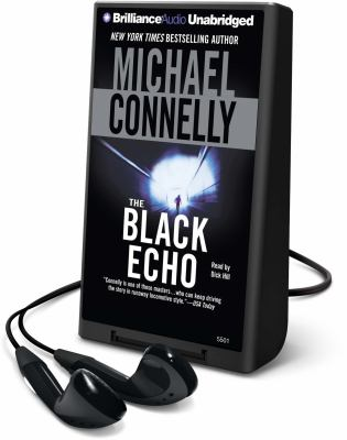 Cover image for The black echo. bk. 1 [Playaway] : Harry Bosch series