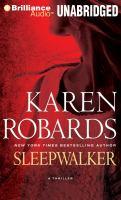 Cover image for Sleepwalker a thriller
