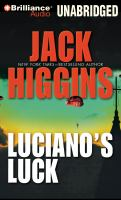 Cover image for Luciano's luck [sound recording CD]