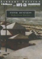 Imagen de portada para Fifth business. bk. 1 [sound recording MP3] : Deptford series