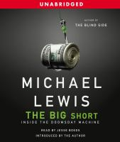 Cover image for The big short inside the doomsday machine