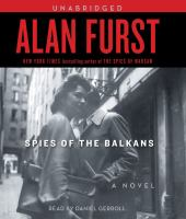 Cover image for Spies of the Balkans. bk. 11 a novel : Night soldiers series