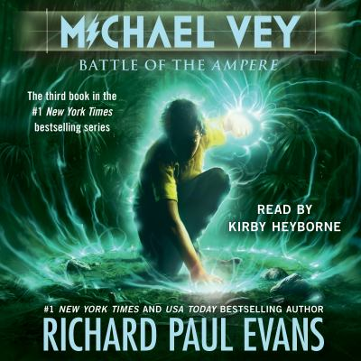 Cover image for Battle of the ampere. bk. 3 Michael Vey series