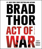 Cover image for Act of war. bk. 13 a thriller : Scot Harvath series