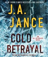 Cover image for Cold betrayal. bk. 10 [sound recording CD] : Ali Reynolds series