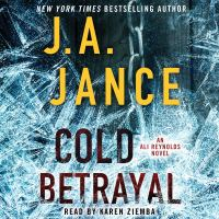 Cover image for Cold betrayal Alison Reynolds Series, Book 10.