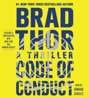 Cover image for Code of conduct. bk. 14 [sound recording CD] : a thriller : Scot Harvath series