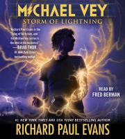 Cover image for Storm of lightning. bk. 5 [sound recording CD] : Michael Vey series