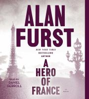 Cover image for A hero of France. bk. 14 [sound recording CD] : a novel : Night soldiers series