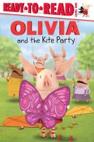 Cover image for Olivia and the kite party