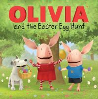Cover image for Olivia and the Easter egg hunt