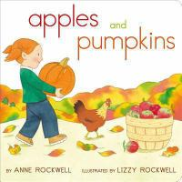 Cover image for Apples and pumpkins [board books]