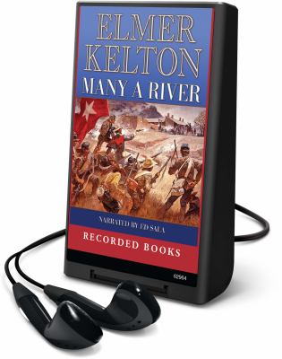 Cover image for Many a river