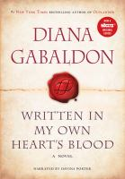 Cover image for Written in my own heart's blood. bk. 8, Part 2, discs 19-38 : Outlander series