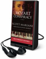 Cover image for The Mozart conspiracy. bk. 2 a novel : Ben Hope series