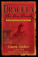Cover image for Dracula the un-dead