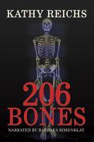 Imagen de portada para 206 bones Temperance Brennan Series, Book 12.