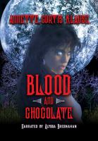 Cover image for Blood and chocolate