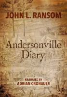 Cover image for The Andersonville diary