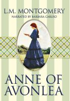 Cover image for Anne of Avonlea