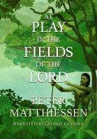 Cover image for At play in the fields of the Lord