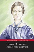 Cover image for Emily Dickinson, poems & letters